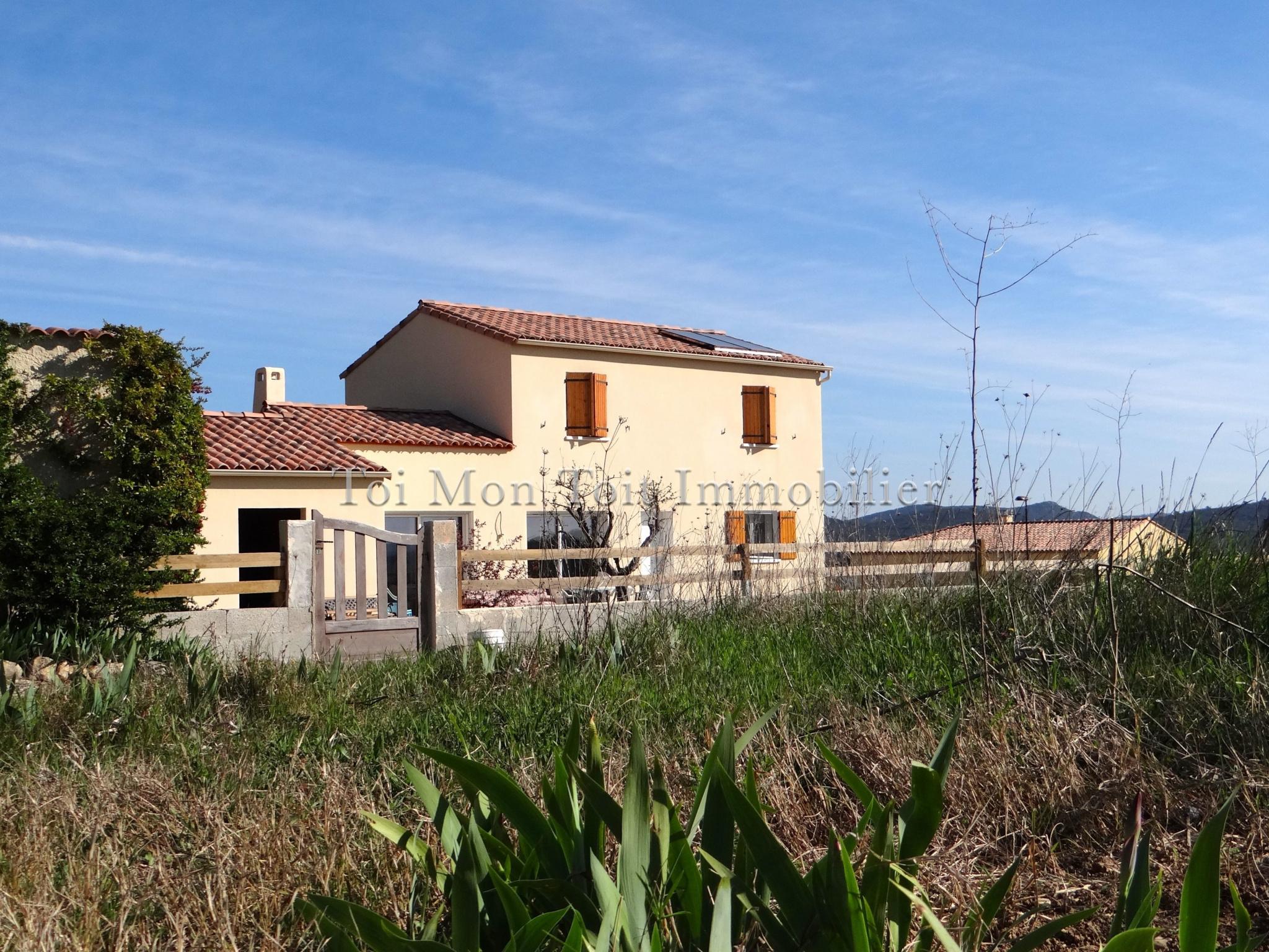 Vente quissac villa neuve 120 m sur 1000 m de terrain for Villa neuve